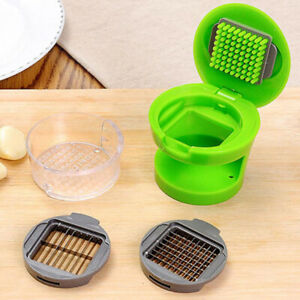 Manual Garlic Press Ginger Onion Crusher Mincer Squeezer Easy to Clean