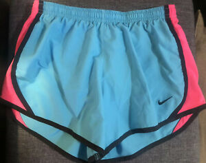 YOUTH GIRLS NIKE DRI FIT TRAINING RUNNING SHORTS SZ L  ** EXCELLENT **