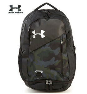 Under Armour UA Hustle 4.0 Backpack Desert Sand Camo Laptop School 1342651 290 $52.97