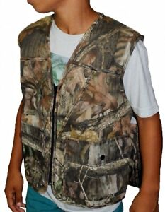 Redhead Youth Large 10 Camo Advantage Timber Upland Hunting Vest Paintball 1E5