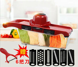 Kitchen Mandoline Slicer Vegetable Cutter Potato Peeler Carrot Grater Dicer