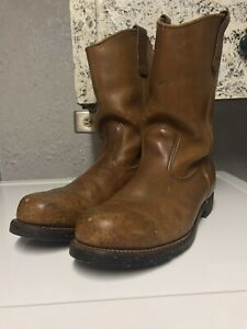 Vtg Redwing Boots 2227 Steel Toe 10.5 D RARE OutSoles Like 2268 Style