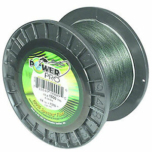 Power Pro 21102001500E BRAIDED LINE 200LB 1500 YARDS GREEN
