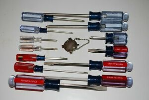 New Craftsman 14 PC Phillips amp; Slotted Screwdriver Set