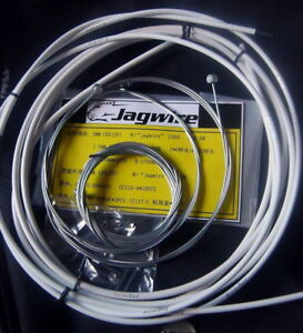 BICYCLE JAGWIRE HOUSING CABLE BRAKE SHIFTER COMPLETE KIT WHITE $12.18