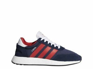Adidas Originals Iniki Boost USA Olympic I-5923 Navy Blue Red White Mens 9 Shoes