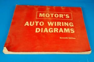 Motor#x27;s 17th Edition Auto Wiring Diagrams 1967 For Passenger Cars Ford Fairlane