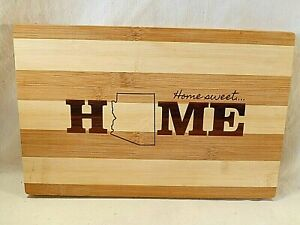 Totally Bamboo ARIZONA State Themed Cutting & Serving Board NEW