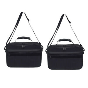 2x Fishing Reel Storage Bag Pack Tackle Case Lure Line Hooks Box 6 Compartments