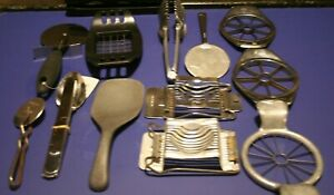 Make Offer Miscellaneous Vintage and Otherwise Stainless Kitchen Gadgets