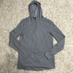 UNDER ARMOUR THREADBORNE KNIT FITTED HOODIE 1 4 ZIP GRAY1301587 035 MENS SMALL S $19.99