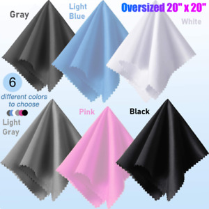 Extra Large Microfiber Cleaning Cloth 20quot; X 20quot; for TV Screens Lens Phone