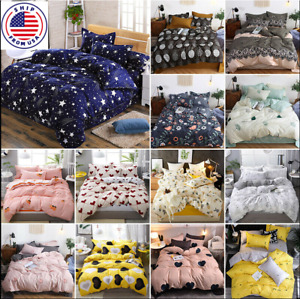 Floral Duvet Cover   Bedding Set Comforter Cover  Soft Bed Sheets Pillowcase