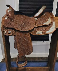 "Tex Tan AQHA Collection Show Saddle 16"" Seldom Used Very Good condition"