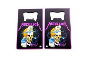 Concert Tour Damaged Justice Metallica Bottle Opener 3.25x2
