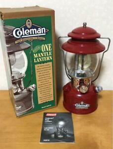 Coleman 200B795 red lantern USA limited item Outdoor goods