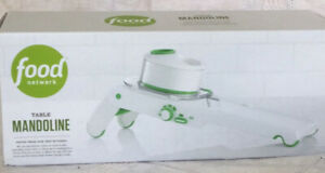 Mandoline Table Top Food Network Adjustable Nonslip Multi-Blade Hand Guard NIB