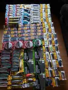 HUGE  FISHING LURE LOT OF BASS LURESPLASTICSTUNGSTEN ETC SEE PICTURES PLEASE