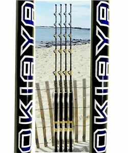SALTWATER FISHING RODS 30-50LB(4 Pack)