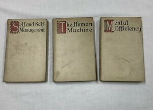 3 Vintage Books Self And Self Management The Human Machine Arnold Bennett 911