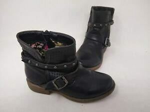 NEW Skechers Youth Girls Mad Dash Pretty N Perfed Boots Blk #87849L 201P cc $22.39