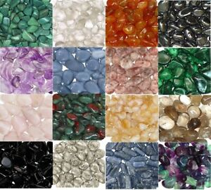 1 2 Lb Tumbled Stones 0.75 1.25 Inch Crystal Healing Stones Choose Stone Type $10.95