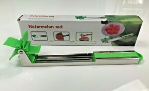 BUY MORE & SAVE Stainless Steel Windmill Watermelon Slicer Cutter 2PK 4PK 10PK