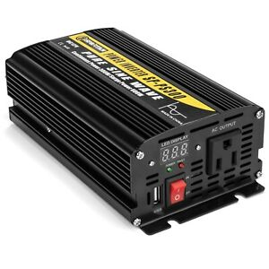 300 Watt Pure Sine Wave Power Inverter by Spartan Power SP-PS300 12V to 120V AC