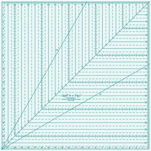 Quilt In A Day 22x22 Square Up ruler $52.95