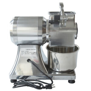 Single Head Cheese Grinder Grater Home 110V 550W Durable Sanitary Disassemble