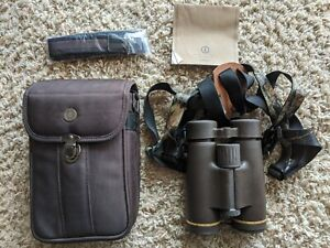 Leupold Golden Ring Binoculars 8x42mm WCase lense covers & sling.