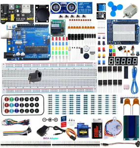 UNO Professional Starter Kit with Tutorial and UNO R3 Compatible with Arduino $35.99