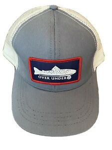 NEW OVER UNDER HAT Mesh Snapback MADE IN USA FREE SHIPPING $15.00