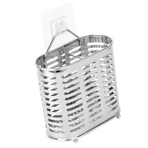 Stainless Steel Holder Spoon Fork Ladles Container Drying Rack Type A