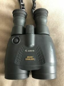 ABSOLUTELY PRISTINE Canon 15x50 IS All Weather Image Stabilized Binoculars