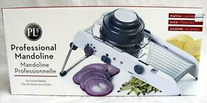 PROFESSIONAL MANDOLINE..PL8-1000..SLICER, WAFFLE, JULIENNE..NEW in BOX