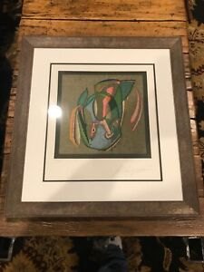 MIHAIL CHEMIAKIN ORIGINAL LITHOGRAPH SIGNED and NUMBERED 234 300 Framed $400.00