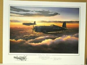 HEADING HOME REFLECTIONS by Rick Herter signed by 2 Marine ACES