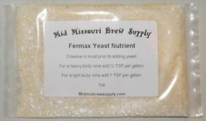 1oz Fermax Yeast Nutrient Energizer Homebrew Beer Brewing Starter Wine Moonshine