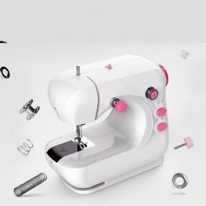 Small Sewing Machine Home Crafting Household with Light Bonus Accessories $52.25