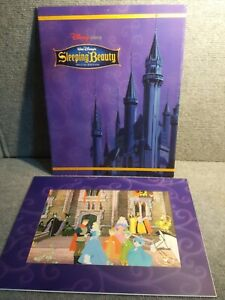 2003 Disney exclusive Commemorative Lithograph Sleeping Beauty Special Edition