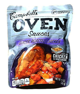 Campbell's Oven Sauce: Classic Roasted Chicken (Pack of 2) 12 Ounce Bags