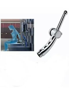 US Bidet Faucet Sprayer Shower Head Toilet Hand Held ABS Bathroom Portable Chrom