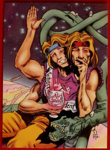 HITCHHIKER#x27;S GUIDE TO THE GALAXY Card #57 ZAPHOD BEEBLEBROX CARDZ 1994