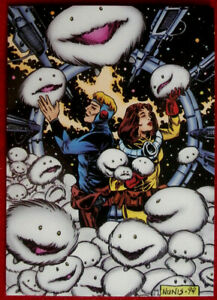 HITCHHIKER#x27;S GUIDE TO THE GALAXY Card #82 THE ALPHA CENTAURIANS CARDZ 1994