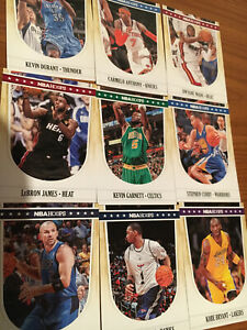 2011 12 Hoops Basketball NBA Singles Pick Your Card To Complete Set 1 250 BM