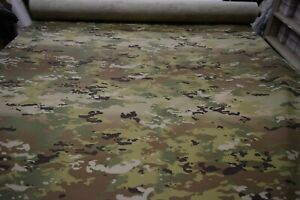 4 YARD PIECE OCP MULTICAM NY CO RIPSTOP CAMOUFLAGE FABRIC MILITARY 6.5 OZ 64quot;W