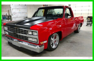 1986 Chevrolet C10 Square Body Custom Shortbed Pickup Truck Frame-Off Restore 1986 Chevrolet C10 Square Body Custom Shortbed Pickup Truck 5.3 LS V8 4L60E