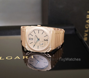 Bulgari Octo Finissimo Extra Thin 102912 BGOPGXTAUTO 18k Rose Gold Wristwatch