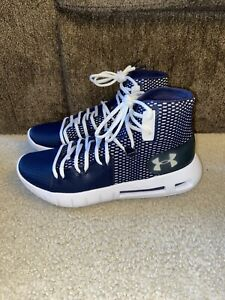New With Box Navy Under Armor Hovr Havoc Size 8 Men's Basketball Shoes $65.00